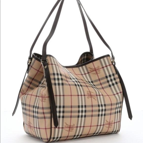 7706a43068bd Burberry Handbags - Large Burberry Canterbury haymarket nova tote